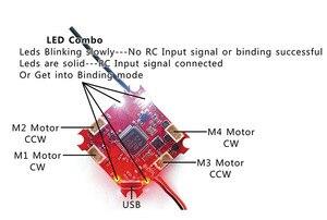 Image 5 - Jmt crazybee F3 飛行コントローラ osd 電流計 4 で 1 5A 1 s Blheli_S esc 互換 frsky/flysky 受信機 multicopter