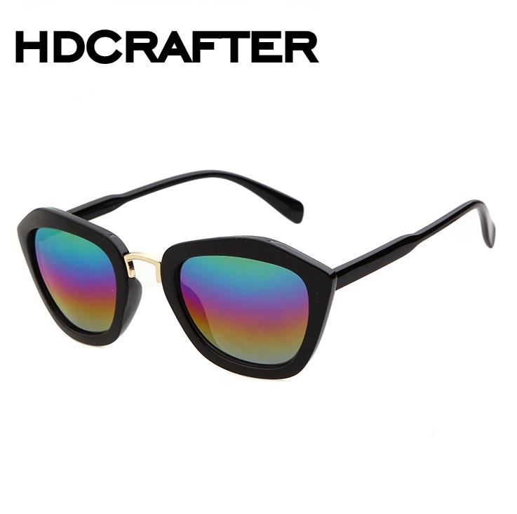 5e2ea49fe25d5 Óculos de sol Das Mulheres Mais Nova Marca de Luxo Designer Liga Templo  Lente Plana Óculos de Sol Do Vintage Com Caixa