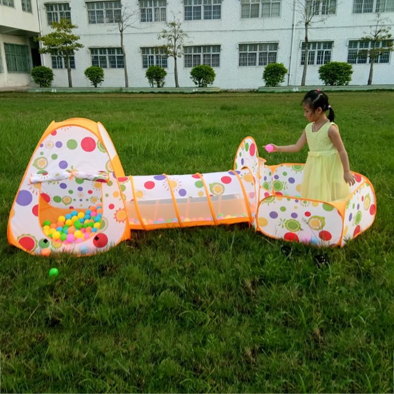 3 en 1 Kids Pool-Tube-Teepee Tiendas de juguetes Niños emergentes - Deportes y aire libre - foto 3