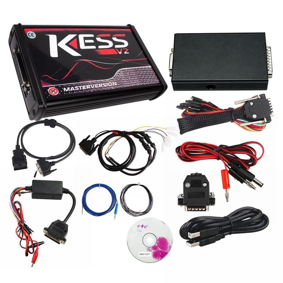 cheapest Red EU KESS V5 017 SW2 53 KTAG V7 020 SW2 25 FGTECH V54 0475 0386 BDM FRAME BDM100 1255 KESS 5 017 KTAG 7 020 15Free ECU as GIFT