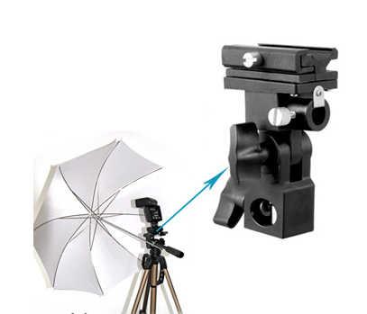 Горячее предложение! Распродажа! Кронштейн вспышки башмак зонтик держатель поворотное соединение лампа Стенд B