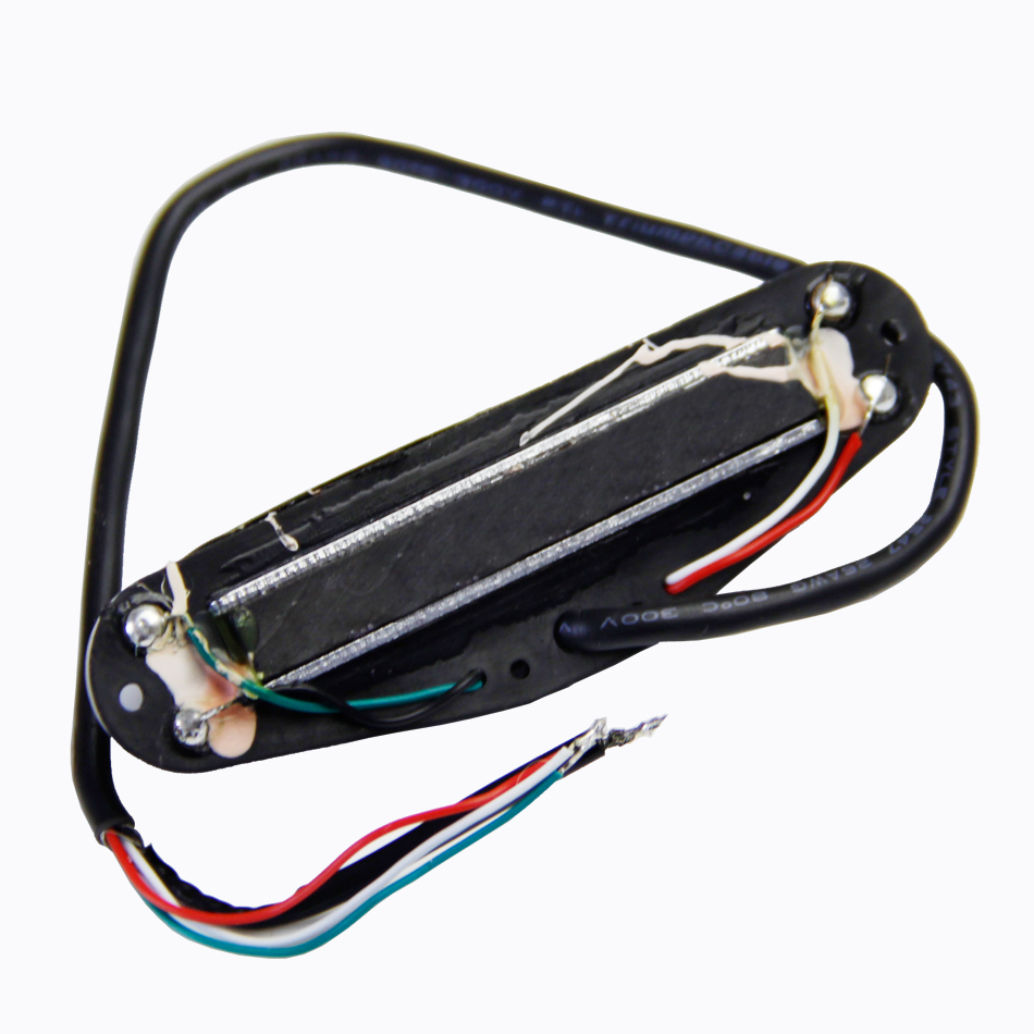 4 Wires for Coil Tapping and No Noise Dual Hot Rail Humbucker Electric Guitar Pickup guitar pick holder