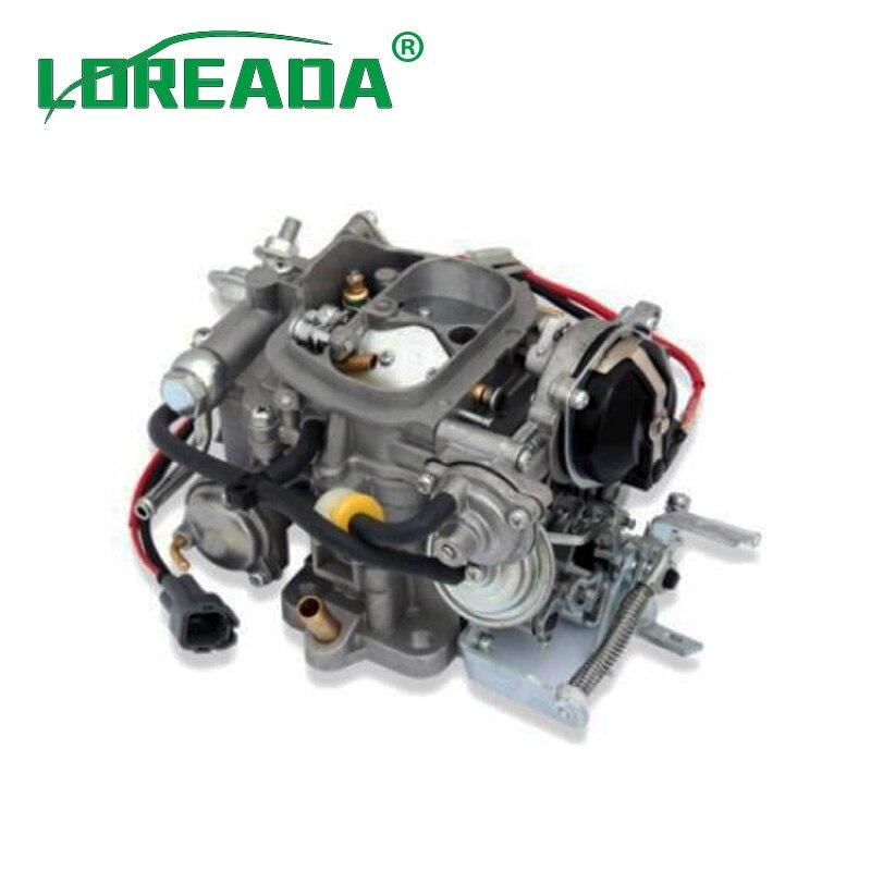 LOREADA CARBURETOR ASSY 21100-35481 2110035481  FITS  for TOYOTA 22R  Engine CARB CARBURETTER aluminum water cool flange fits 26 29cc qj zenoah rcmk cy gas engine for rc boat