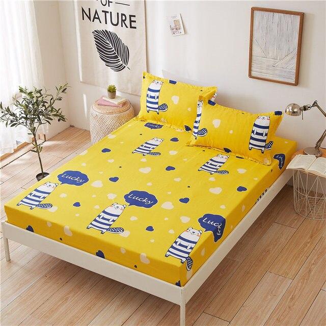 Elastic Rubber Band Bed Sheet Mattress Cover 5
