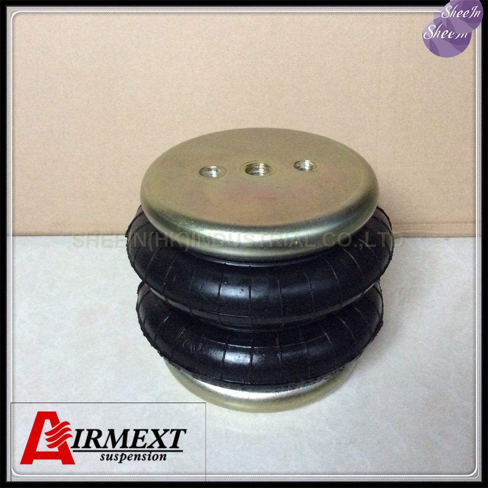 Dia130mm SN130118BC2 Doubleconvolution rubber airspring airbag shock absorber pneumatic air suspension air bellows gas spring