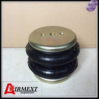 Dia130mm SN130118BC2 Doubleconvolution rubber airspring/airbag shock absorber/pneumatic/air suspension/air bellows gas spring