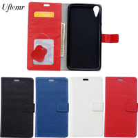 Uftemr For HTC Desire 828 Cases Magnetic Genuine Leather Flip Wallet Cover Case For HTC Desire