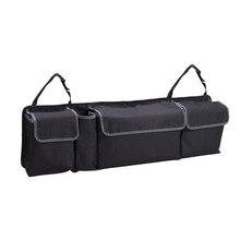 Car Backseat Organizer Car SUV Trunk Organizer & Car SUV Storage With Large Durable Pockets Versatile & Convenient Storage