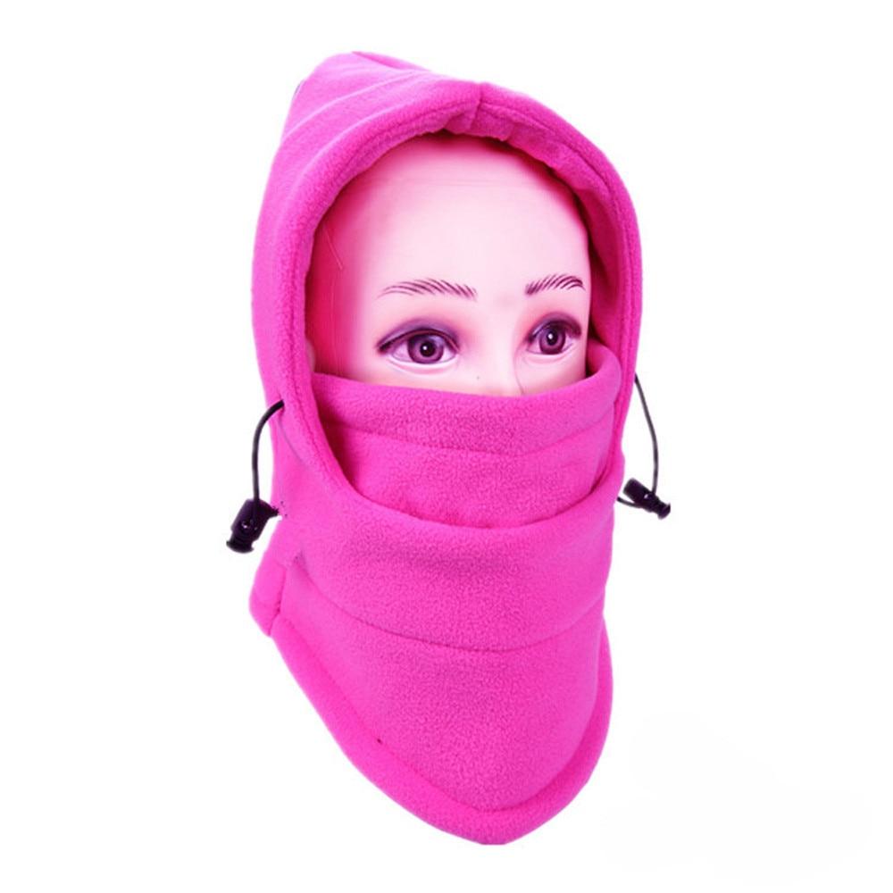 Новинка, 6 в 1, уличные Лыжные маски, велосипедные лыжные шапочки, зимние шапки с защитой от ветра# NE920 - Цвет: J