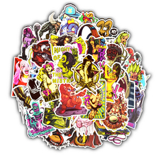 TD ZW 50Pcs Terror Series Rock Punk Graffiti Sexy Stickers For Suitcase Laptop Car Motorcycle Scrapbooking Skateboard Sticker