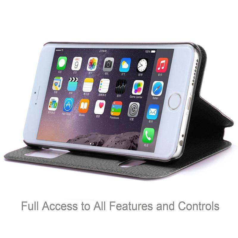Θήκη για Apple iPhone 6 Plus & iPhone 6S Plus Luxury PU - Ανταλλακτικά και αξεσουάρ κινητών τηλεφώνων - Φωτογραφία 5