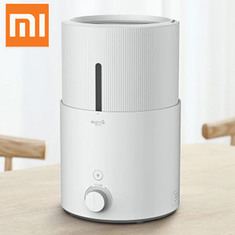 цена на Original Xiaomi Deerma 5L Aroma Essential Oil Diffuser Ultrasonic Air Humidifier for Home Office Purifying Humidifier DEM-SJS600
