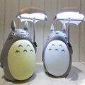 Kawaii dos desenhos animados meu vizinho Totoro lâmpada luz led noite ABS Reading tabela lâmpadas de mesa para caçoa o presente Home Decor novidade iluminações