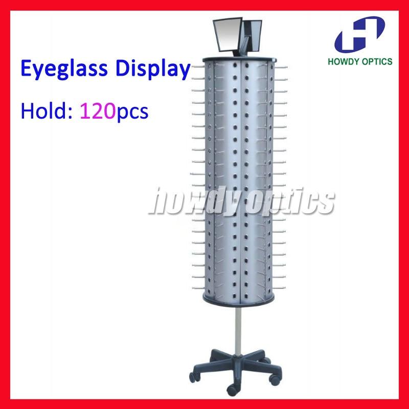 FD1012 Hold 120pcs Rotatable Glasses Eyewear Sunglasses Eyeglasses Display Stand