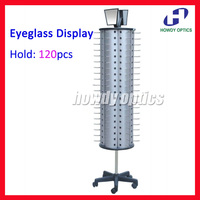 FD1012 Hold 120pcs Rotatable Glasses Eyewear Sunglasses Eyeglasses Display Stand