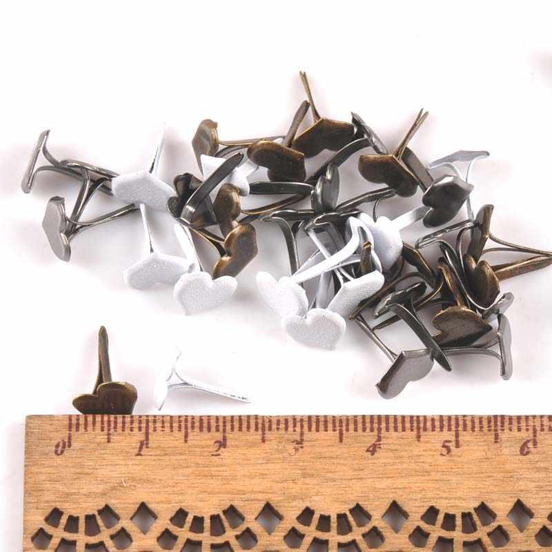 Новый микс шаблон Круглые Металлические Brads DIY Скрапбукинг ремесла аксессуары для домашнего декора украшения застежка Брэд 28 дизайн C2241