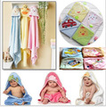 baby hooded bath towel carter animal bathrobe 100% COTTON 76x76cm good quality gift bag