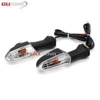 For KAWASAKI KLE 650 1000 Versys ER6N ER 6N ZRX1200 Motorcycle Front Rear Turn Signal Indicator Light Flashing Lamp