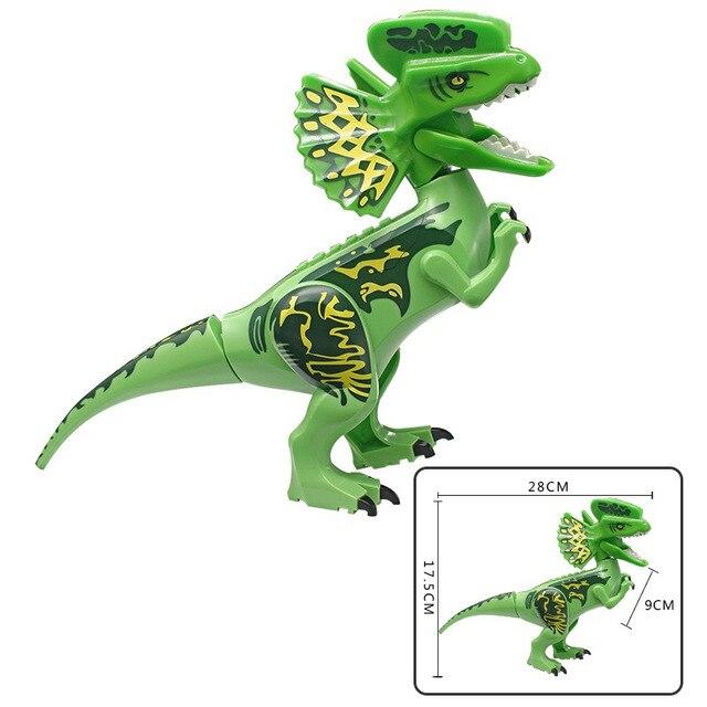 Jurassic-World-2-Dinosaur-Building-Blocks-Legoings-Jurassic-Dinosaur-Figures-Bricks-Tyrannosaurus-Rex-Indominus-I-Rex.jpg_640x640 (5)