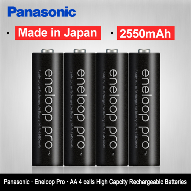 Aliexpress Buy Panasonic Eneloop Original 2550mAh Batteries