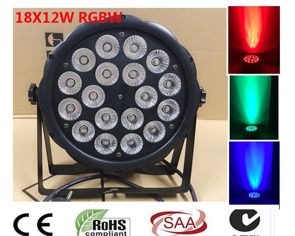 dmx christmas decoration led lamp 18x12W 4IN1 Led Par Light 4/8CHs outdoor lighting Party DJ Disco Par