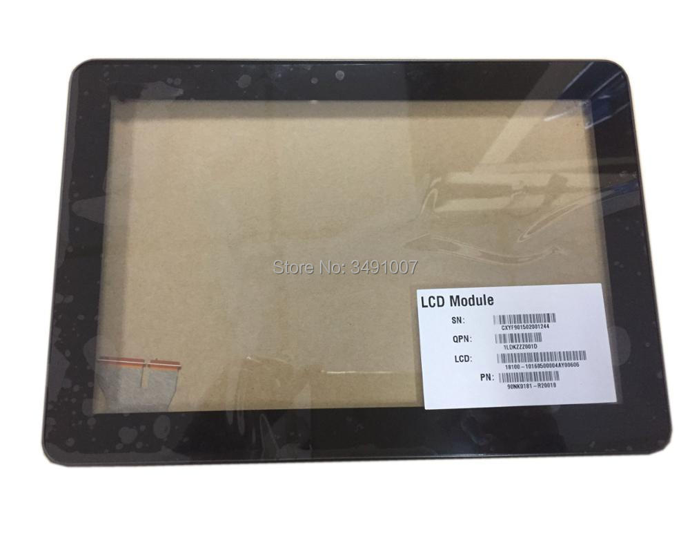 Touch Screen Digitizer Glass Replacement with Frame For ASUS Pad TF103CG K018 BLACK Color 076 1015