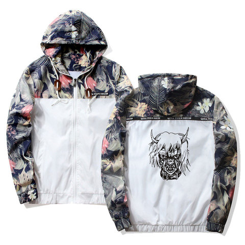 Frdun Tommy Lil Peep Sad Hooded Jackets Windbreaker Men Jackets Coats Sweatshirt Men Hip Hop Zipper Lightweight Jackets Bomber Islamabad