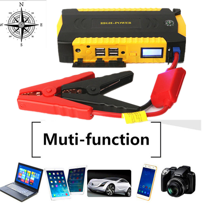 2017 Mini Emergency Car Jump Starter Portable 12V Car-Styling Starting Device Diesel Charger For Car Battery Booster Buster Auto