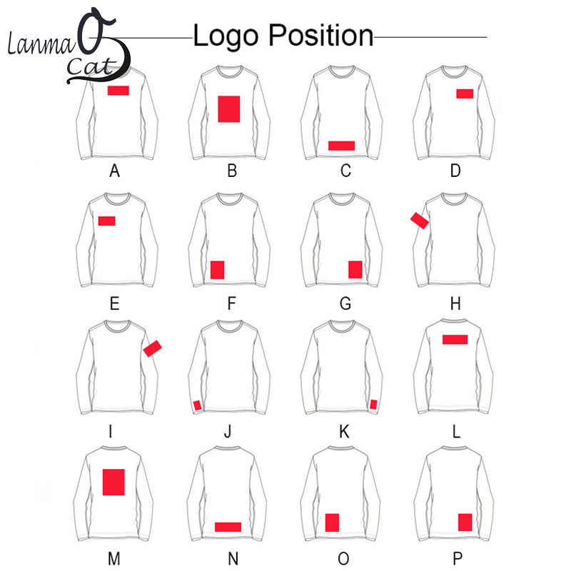 c0b14092 ... Lanmaocat Long Sleeve Cotton Private Male T Shirts Personality Photo  Picture Logo Printed Custom Printing Shirts
