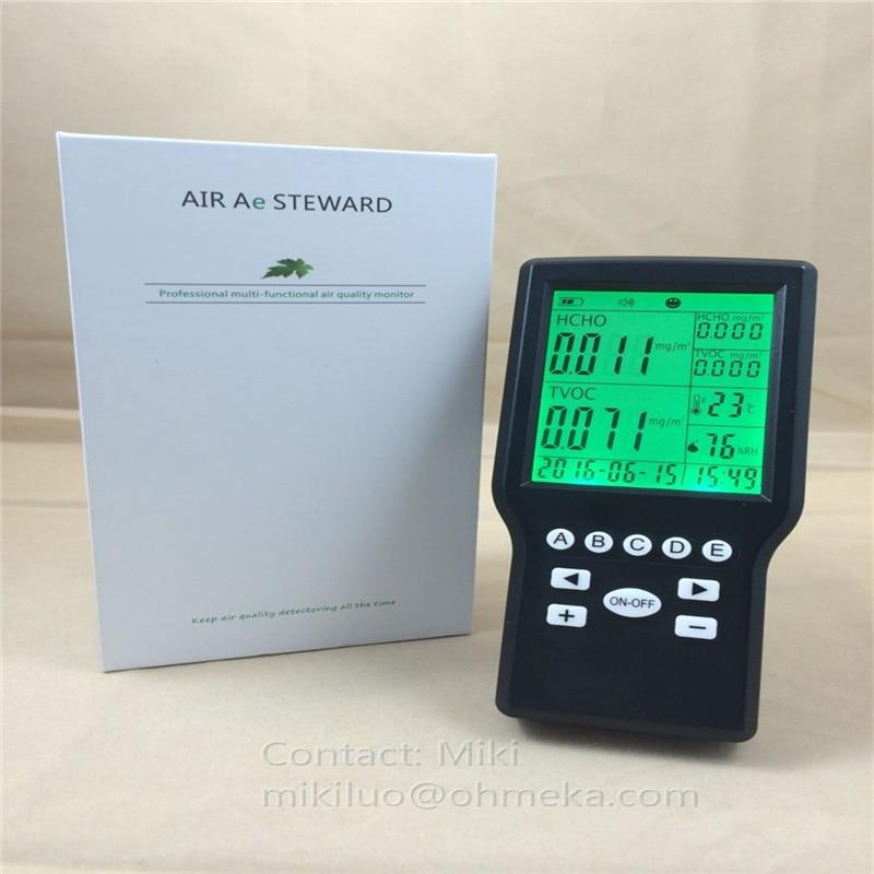 Indoor Formaldehyde Detector LCD Display Formaldehyde Air Monitor