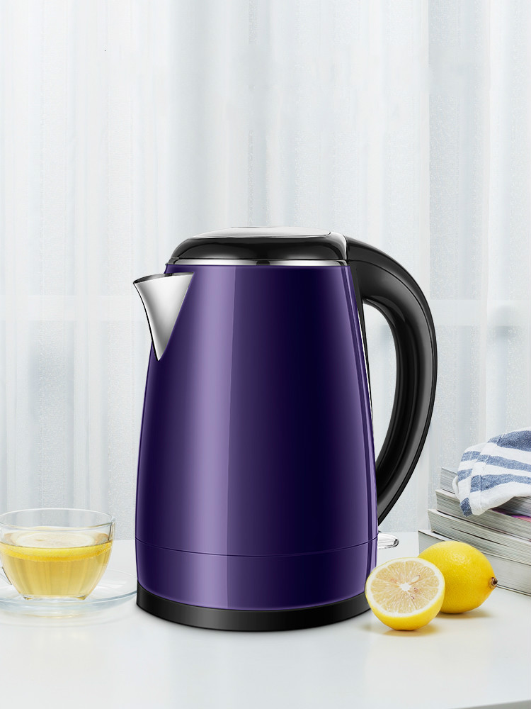Electric kettle household 304 stainless steel large capacity automatic power off to open цена и фото
