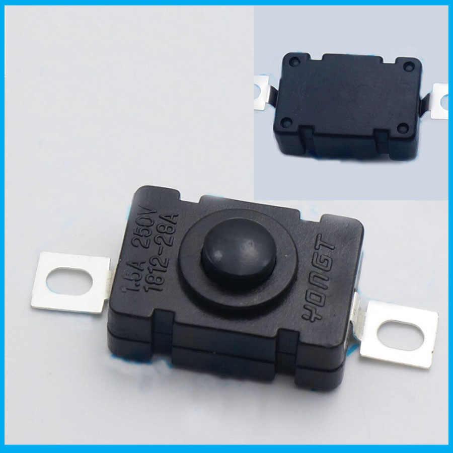 Бесплатная доставка 1000 шт сенсорный фонарик самоблокирующийся SPST кнопочный переключатель AC/DC 250 V 1.5A