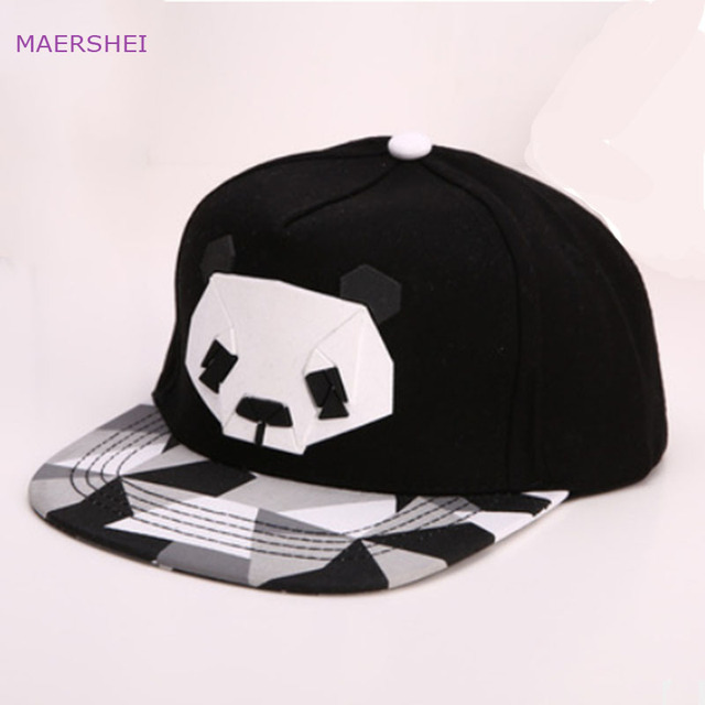 32249194289 MAERSHEI 2018 male fashion Panda offset baseball cap sanpback female Korean  hip-hop hat simple