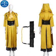 2017 Cosplay Costume Ancient One Roleplay Doctor Strange Cosplay Women Basic Coats Custom Made Adult Free Shipment doctor strange costume dr strange steve cosplay costumes outfit superhero battle suit blue red magic cloak full set custom made