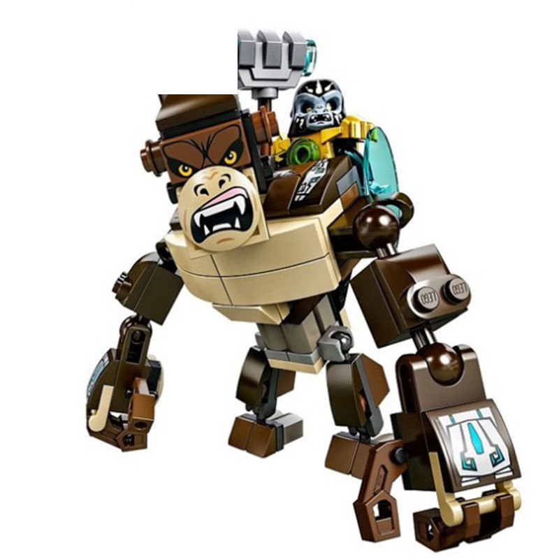 Qigong legendary animal editon CHIMAED Super Hero Figure Building Block Brick For Children Gift Kid Toy in Blocks from Toys Hobbies