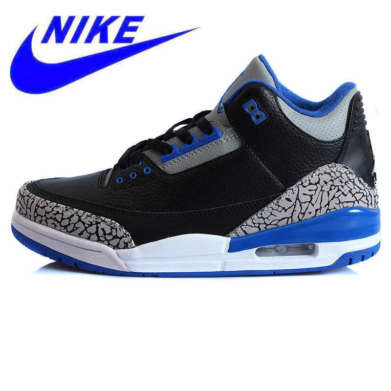 28b78041ed77 Original Nike Air Jordan 3 Retro AJ3 Sport Men s Breathable Cushioning  Sneakers Sports Shoes