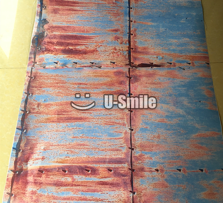 Doomsday Rust Camo Car Vinyl Wrap Bubble Free For Vehicle Graphics Car Wrapping Size:1.50*30m/Roll футболка print bar doomsday