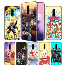 undertale papyrus Soft Black Silicone Case Cover for OnePlus 6 6T 7 Pro 5G Ultra-thin TPU Phone Back Protective