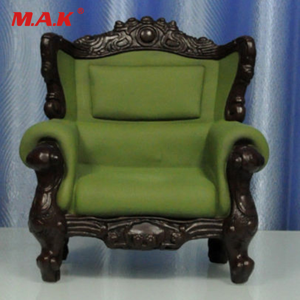 Furniture 1:6 KUMIK AC-4 PVC Sofa Couch Leather Sling Chair ArmChair Model Toys