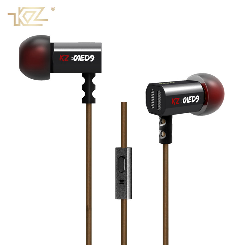 KZ Music HIFI Earphone Super Bass Sport In Ear Earphones Stereo Earbuds Noise Cancelling With Microphone for IPhone Xiaomi