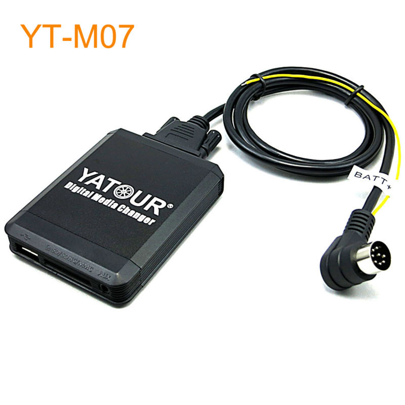 Yatour Car MP3 USB SD CD Changer for iPod AUX with Optional Bluetooth for Volvo C70 S40 S60 S80 V40 V70 XC70 yatour car adapter aux mp3 sd usb music cd changer cdc connector for toyota altis vitz optimo coaster rav4 solara radios