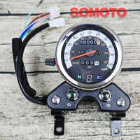 Motorcycle universal single odometer high quality instrument with light with luminous