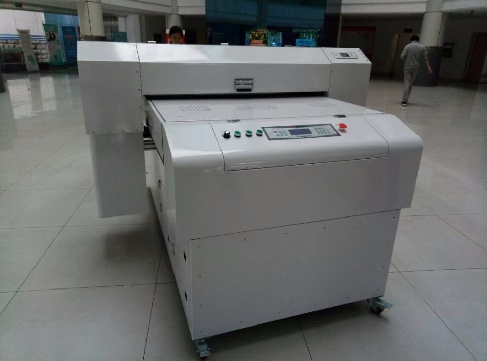 High quality large uv led printer with dual uv lamp full color for