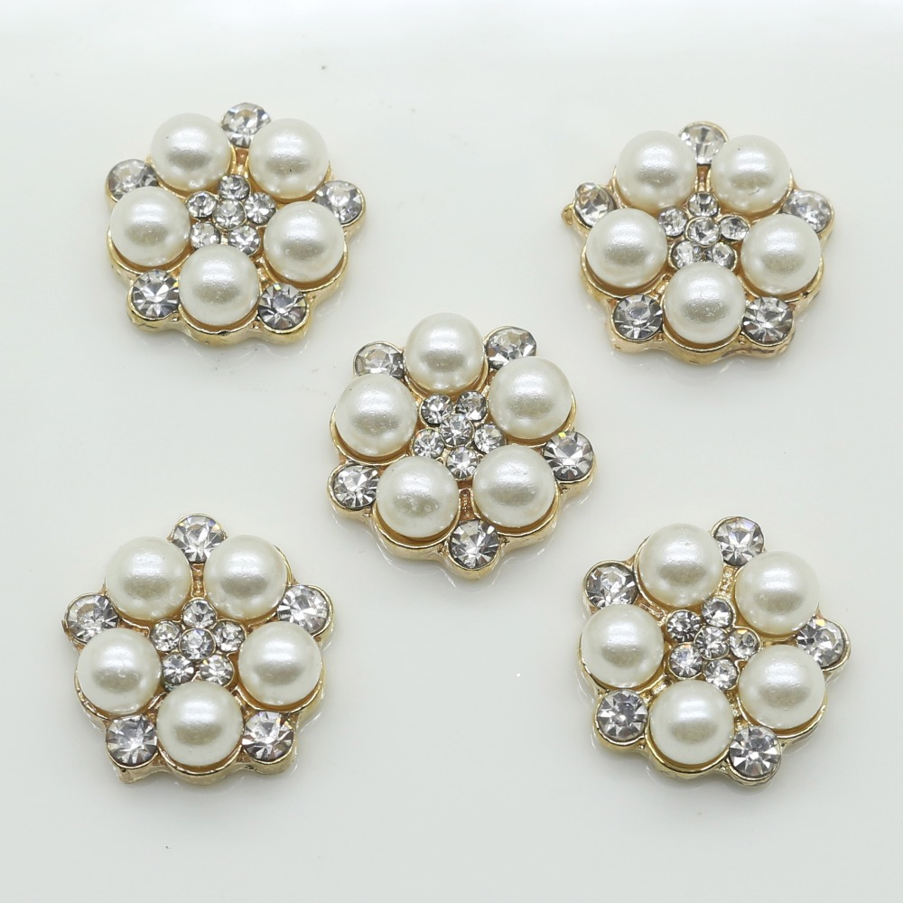 Detail Feedback Questions about Wholesale 50 pcs 15 mm mini flower center  buttons pearl embellishment for handmade flower  7ad56d12451f