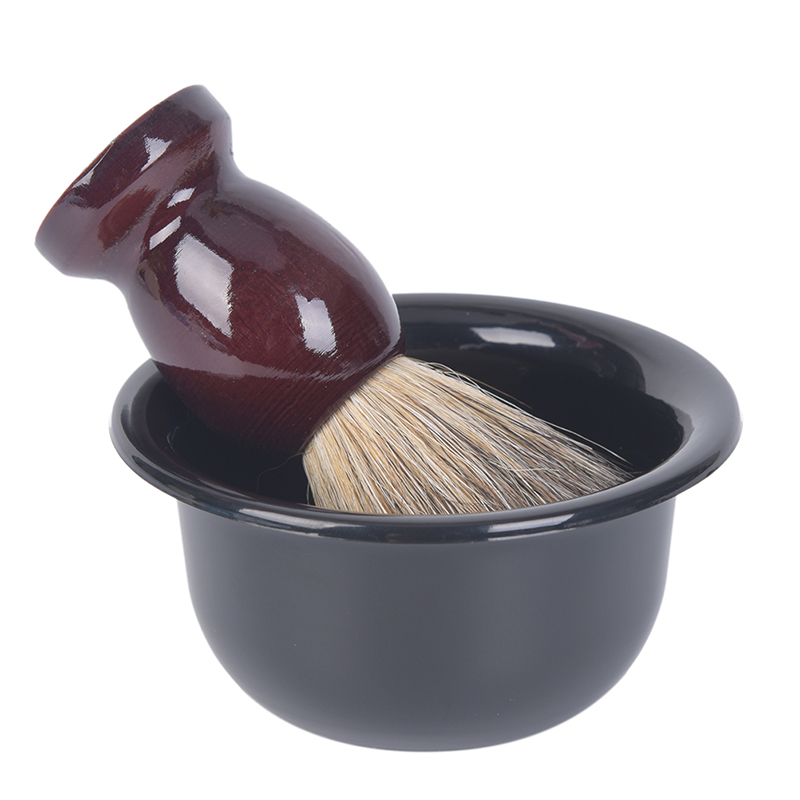 Plastic Shaving Bowl Barber Beard Razor Cup For Shave Brush Male Face Cleaning Soap Mug Tool