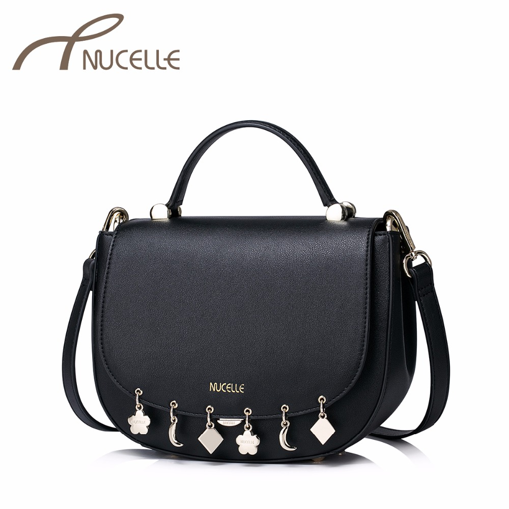 NUCELLE Women PU Leather Handbags Ladies Fashion Brief Tassel Messenger Small Tote Bags Female Brief Crossbody Bags NZ51004 carbide woodworking router bit buddha beads ball knife woodworking tools wooden beads drill tool