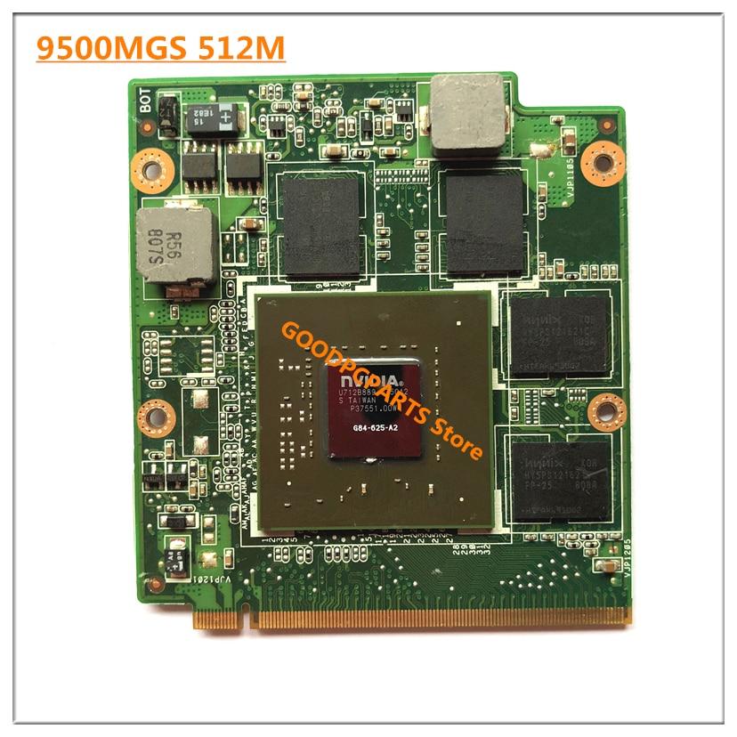 for n V i d i a Geforce 9500M GS G84-625-A2 DDR2 512MB MXM Video Graphics Card for A s u s M50 M50S M50SV X550SV F8SN F8SG est for a c e r aspire 5920g 5920 5520g 5520 mxm ii ddr2 1gb graphics vga video card replace n v i d i a geforce 9650m gt