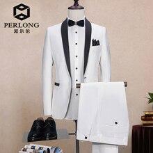 White Designs  Formal Custom Made Man suits Groom Suit For Men Slim Fit Tuxedo 2 Pieces Blazer wedding suits for men slim fit