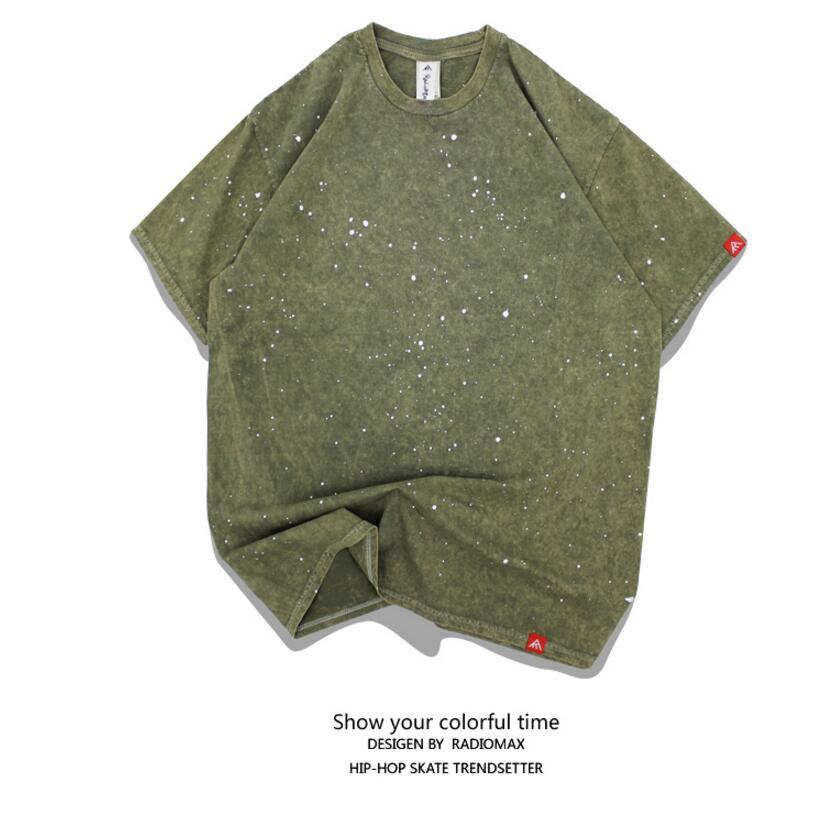 100% algodón Camisetas de skate de manga corta Camisetas de manga - Ropa deportiva y accesorios - foto 5