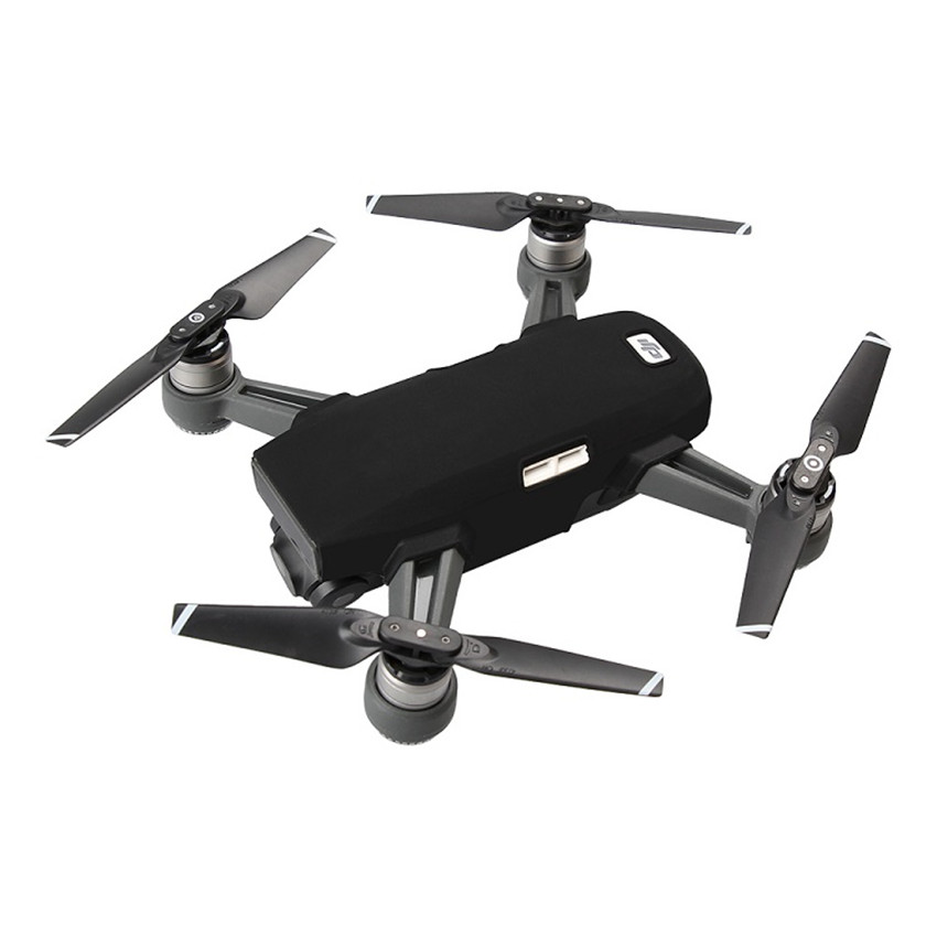 Waterproof Silicone Protective Body Cover Case Heat Resistant Compatible DJI Spark Drone